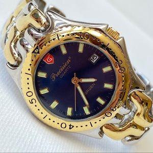 Gruen Precision 38mm Men's Blue Dial Dress Watch